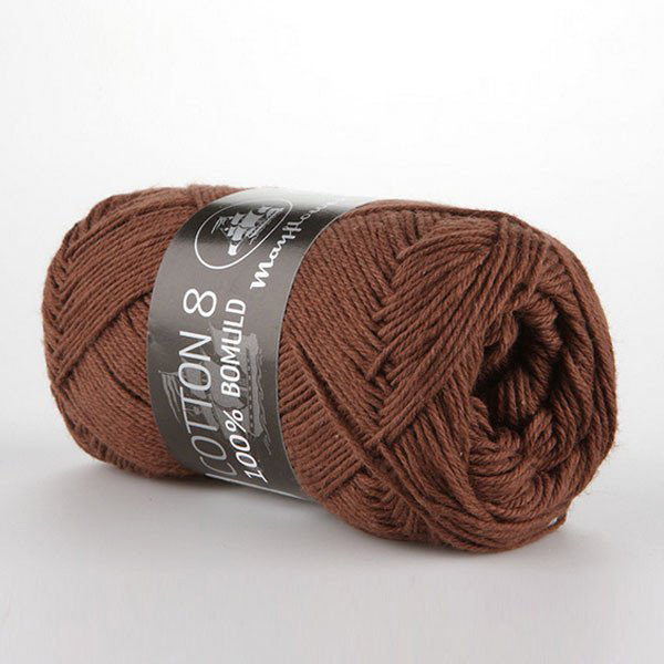 mayflower-cotton-84-garn-unicolor-1437-rodbrun