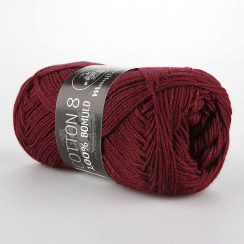 mayflower-cotton-84-garn-unicolor-1454-vinrod