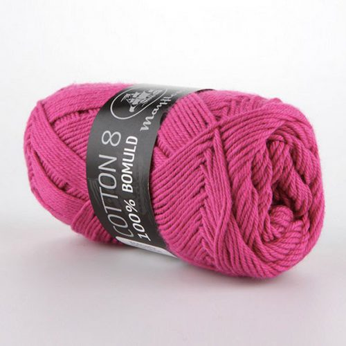 mayflower-cotton-84-garn-unicolor-1470-cerise