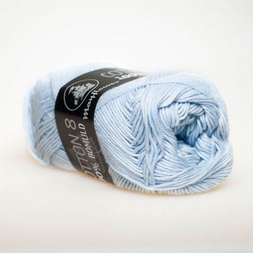 mayflower-cotton-84-garn-unicolor-1479-lysebla