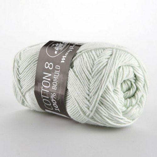 mayflower-cotton-84-garn-unicolor-1486-lys-mintgron