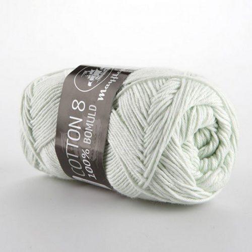 mayflower-cotton-84-garn-unicolor-1486-lys-mintgron