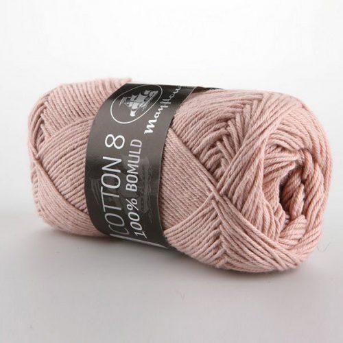 mayflower-cotton-84-garn-unicolor-1489-stovet-rosa