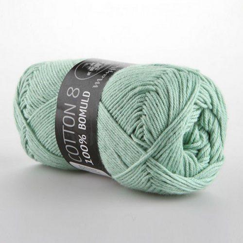 mayflower-cotton-84-garn-unicolor-1492-mintgron