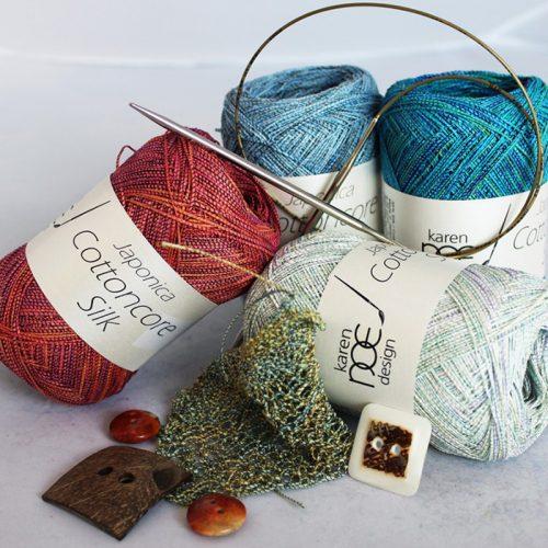 Karen Noe Japonica Cottoncore Silk