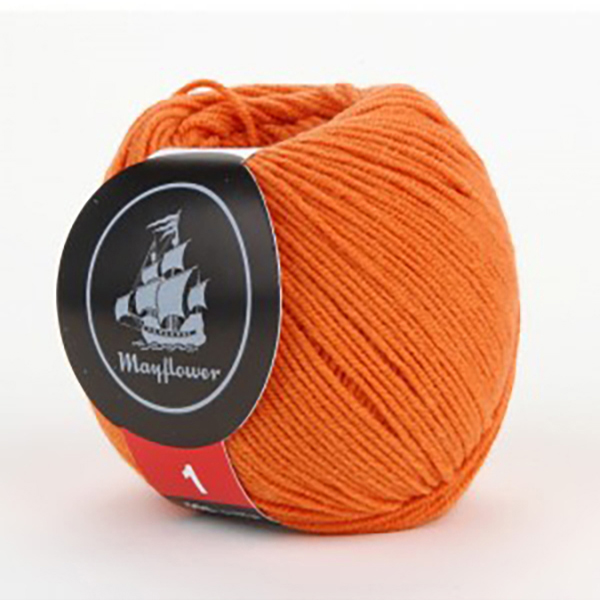 mayflower-cotton-1-garn-unicolor-146-orange