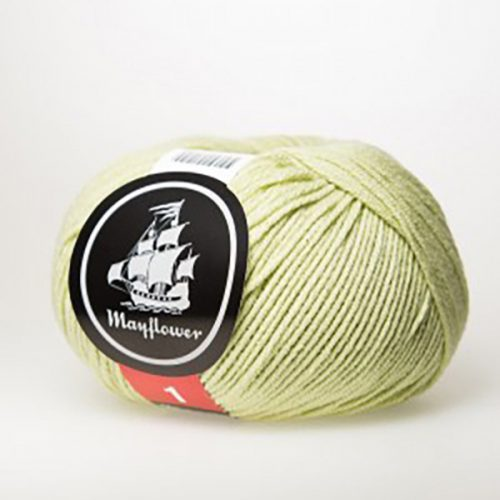 mayflower-cotton-1-garn-unicolor-148-pistacie