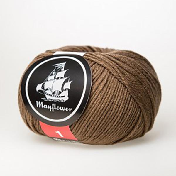 mayflower-cotton-1-garn-unicolor-150-lys-brun