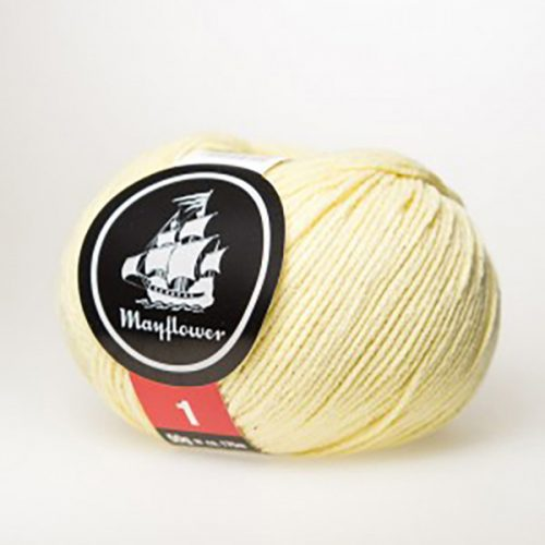 mayflower-cotton-1-garn-unicolor-152-lys-gul
