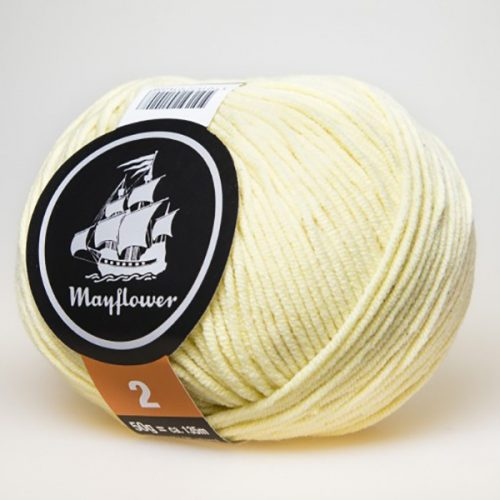 mayflower-cotton-2-garn-unicolor-252-lys-gul