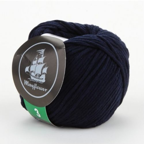 mayflower-cotton-3-garn-unicolor-344-marineblaa