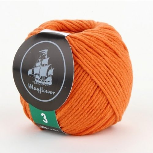 mayflower-cotton-3-garn-unicolor-346-orange